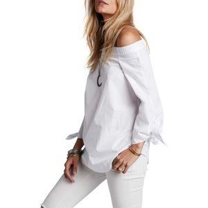 NWT Free People Show Me Some Shoulder Tunic, XS, M